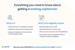 infographic on what you need to know about working capital loan