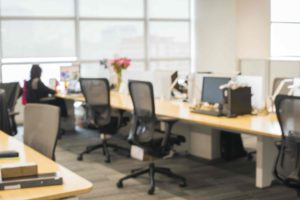 Image of an office space which you can use a bridging loan to make a downpayment for